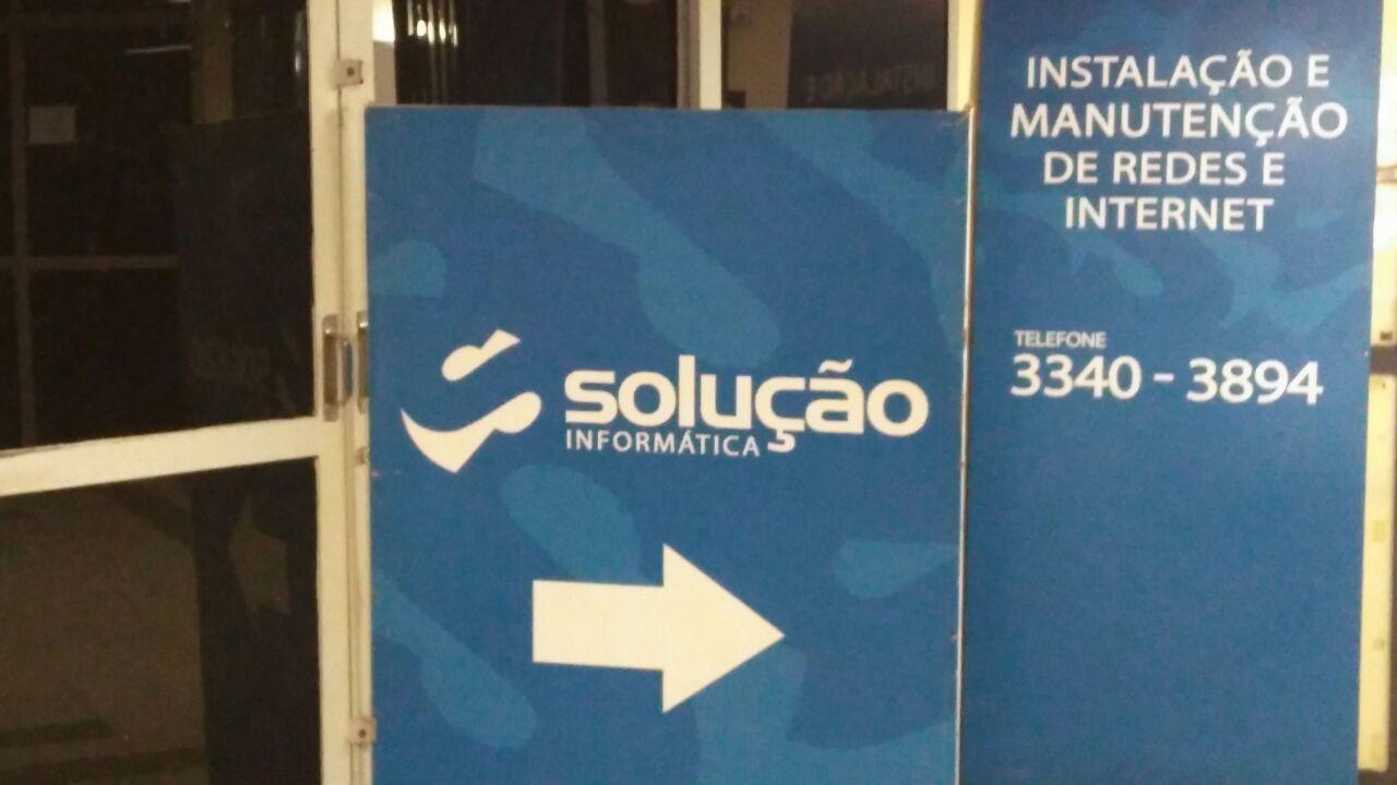 Solução Informática, instalação e manutenção de redes e internet, CLN 207, Rua da informática, Asa Norte, Comércio Brasilia