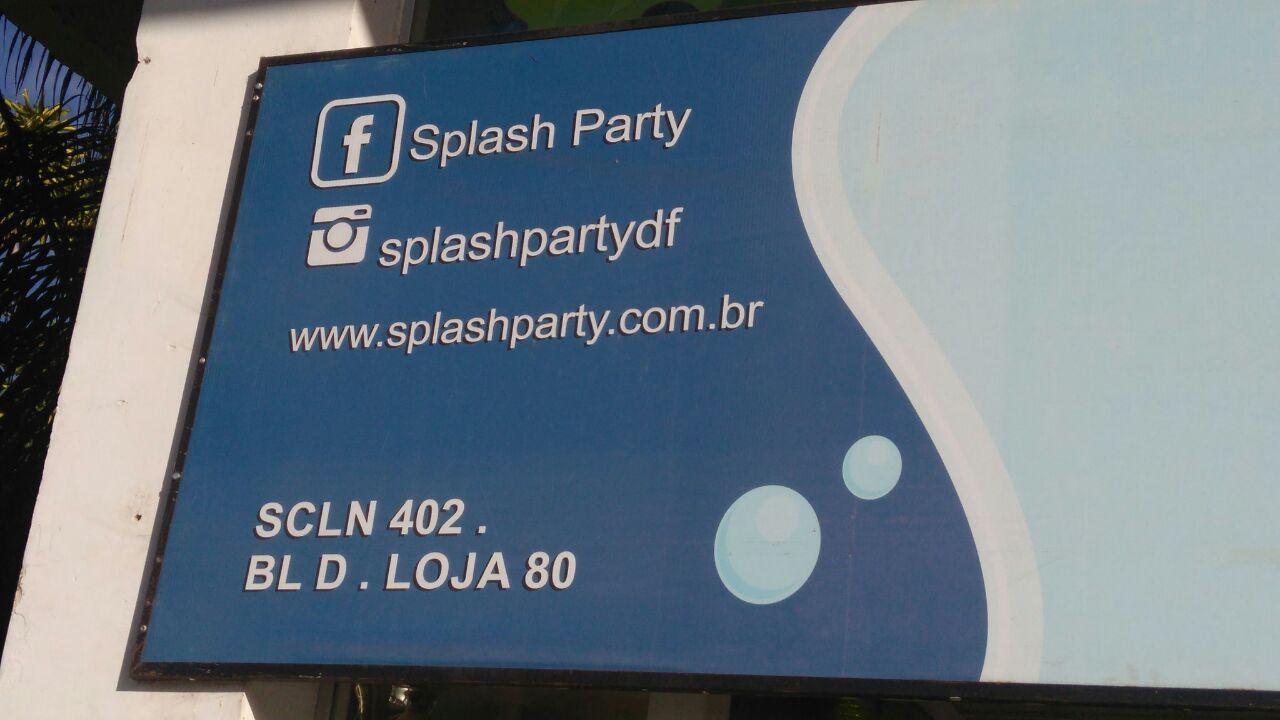 Splash Party, CLN 402, Norte, Bloco D, Asa Norte, Comércio Brasilia