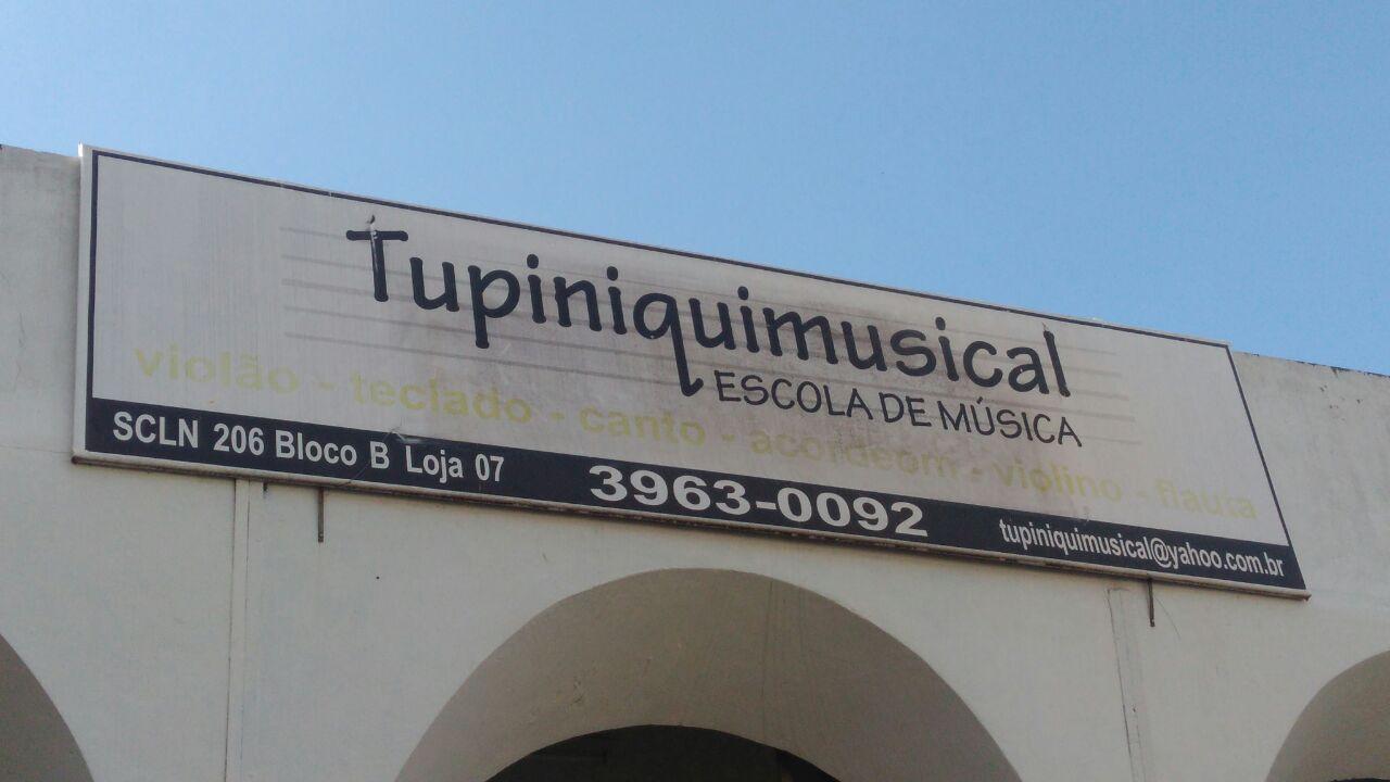 Tupiniquimusical, Escola de Música, SCLN 206, Bloco B, Asa Norte, Comércio Brasilia