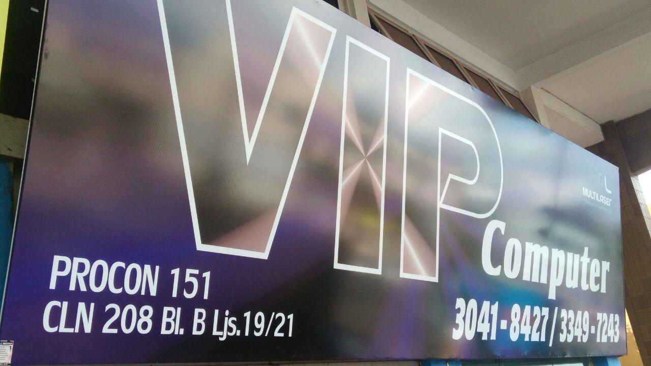 VIP Computer, CLN 208, Rua da informática, Bloco B, Asa Norte, Comércio Brasilia
