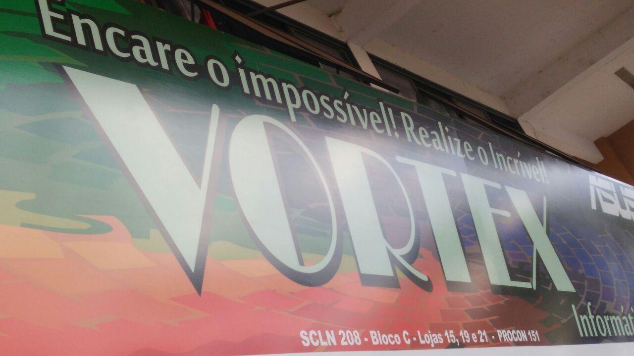 Vortex Informática, CLN 208, Rua da informática, Bloco C, Asa Norte, Comércio Brasilia