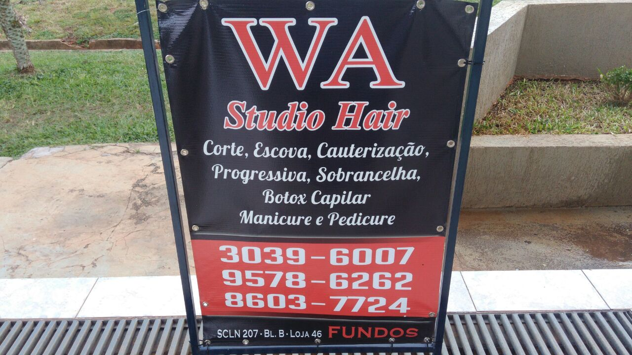Photo of WA Studio Hair, Corte, Escova, Cauterização CLN 207, Asa Norte