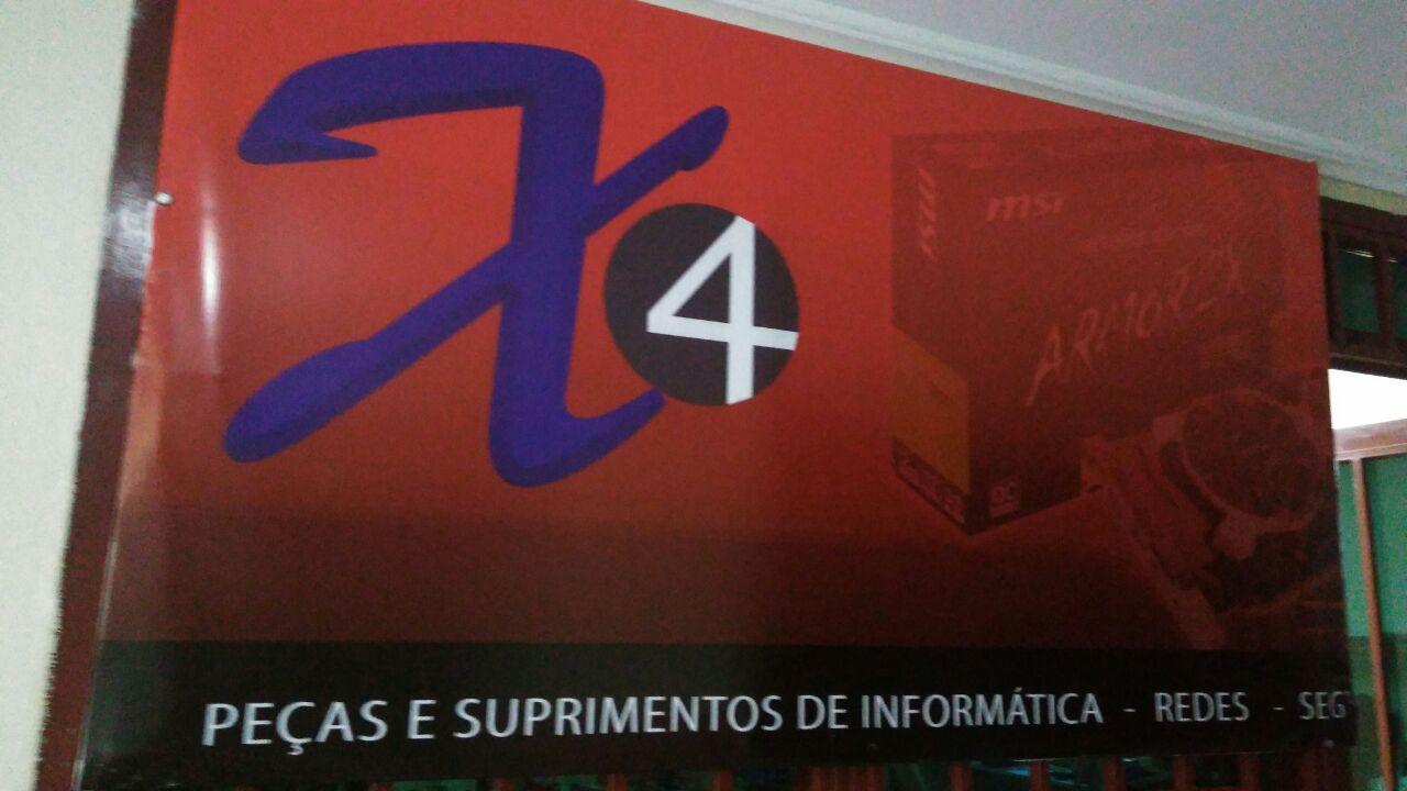 X4 Peças e Suprimentos de Informática, redes, segurança eletrõnica, CLN 406, Bloco E, Asa Norte, Comercio Brasilia
