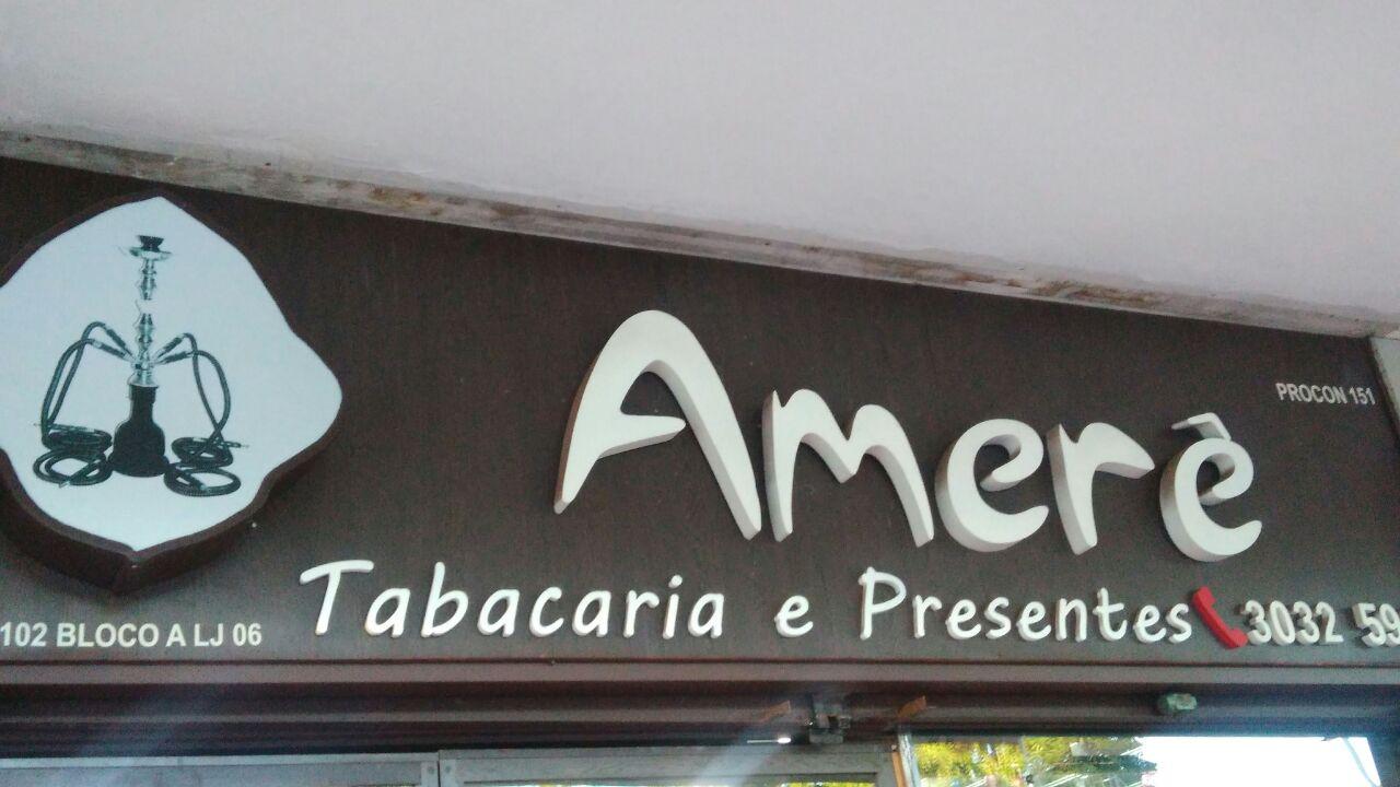 Amerê, Tabacaria e Presentes, CLN 102, Bloco A, Asa Norte, Comércio Brasilia