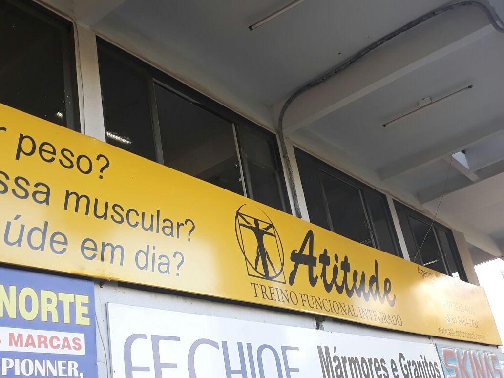 Atitude, Treinamento funcional integrado, 211 Norte, Bloco A, Asa Norte, Comércio Brasília