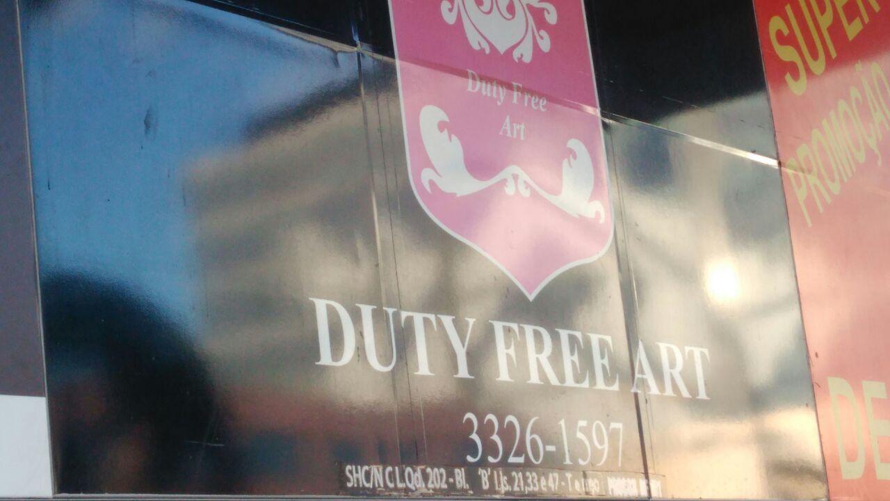 Duty Free Art, SCLN 202, Bloco B , Asa Norte, Comércio Brasilia