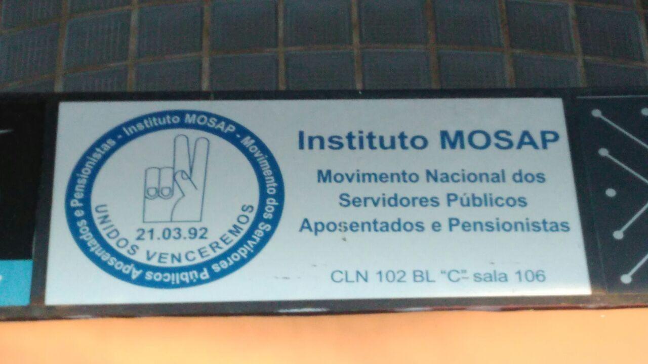 Instituto MOSAP, Movimento Nacional dos Servidores Públicos Aposentados e Pensionistas, SCLN 102, Bloco D, Asa Norte, Comércio Brasilia