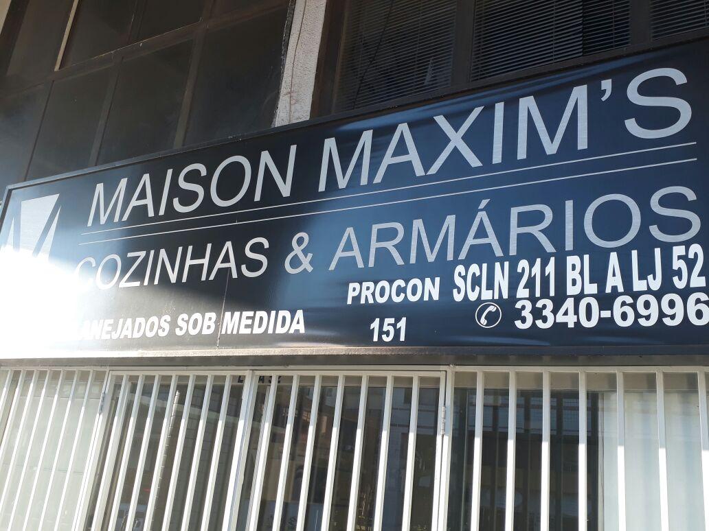Maison Maxims, Cozinhas e Armários, 211 Norte, Bloco A, Asa Norte, Comércio Brasília