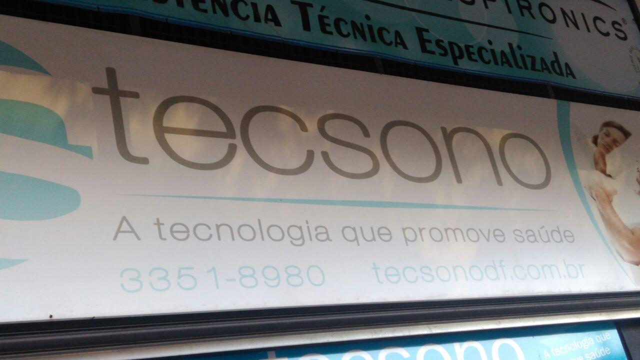 Tecsono, tecnologia que promove a saúde, CLN 102, Bloco D, Asa Norte, Comércio Brasilia