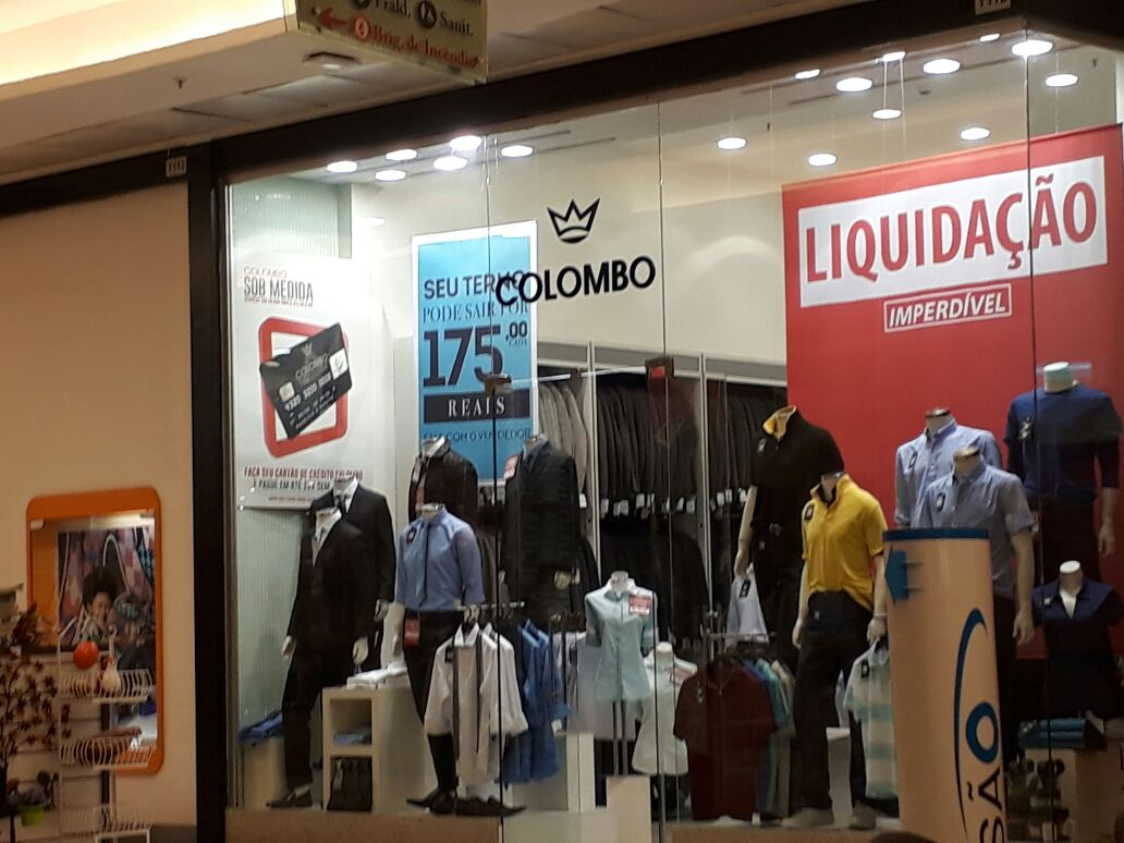Camisaria Colombo, ternos e camisa, Boulevard Shopping, Setor Terminal Norte, Asa Norte, Comércio Brasília