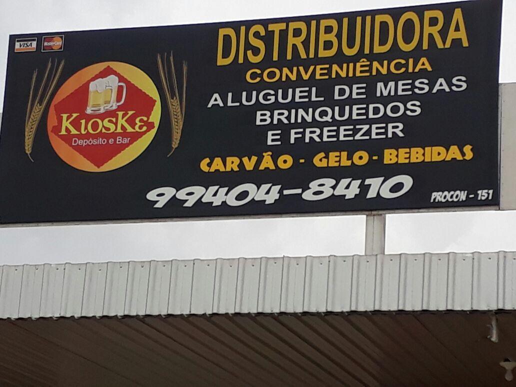 Kioske Ditribuidora e depósito de Bebidas, Marginal BR 020, Grande Colorado
