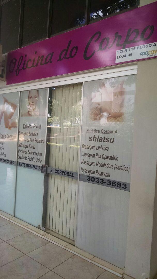 Oficina do Corpo, Estética Facial, Estética Corporal, Quadra 115 Norte, Bloco A, Asa Norte, Comércio Brasília