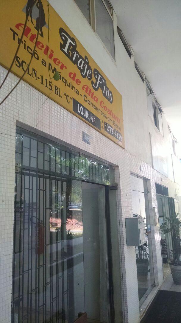 Traje Fino, Atelier de Alta Costura, tricô a máquina, Consertos em geral, Quadra 115 Norte, Bloco C, Asa Norte, Comércio Brasília