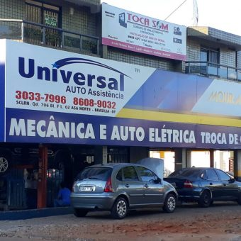 Universal Auto Assistência, Mecânica, Auto Elétrica e Troca de Óleo, Quadra 706 Norte, Bloco F, Asa Norte, Comércio Brasilia