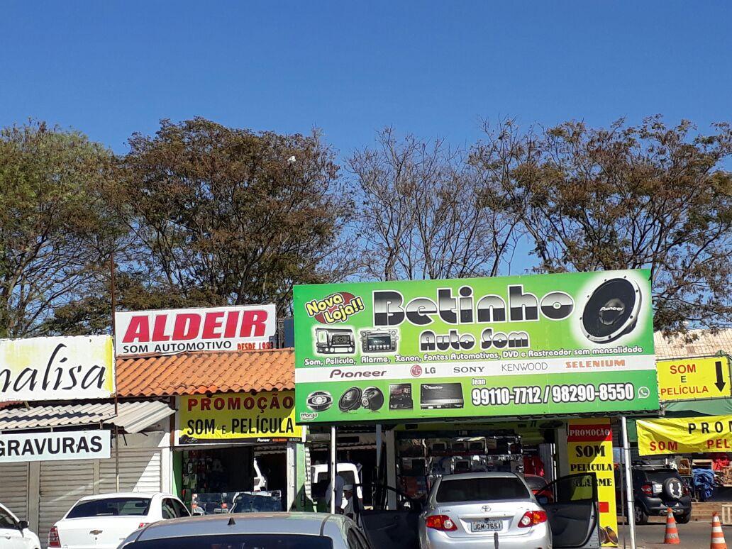 Betinho Auto Som, Feira dos Importados de Brasília, Trecho 7, SIA, Comércio Brasília