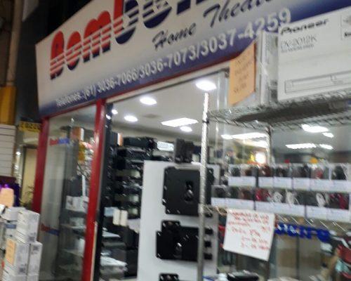 Bombeiro Home Theater, Feira dos Importados de Brasília, Trecho 7, SIA, Comércio Brasília