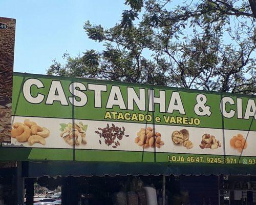 Castanha e Cia, Atacado e Varejo de Castanhas, Feira dos Importados de Brasília, Trecho 7, SIA, Comércio Brasília