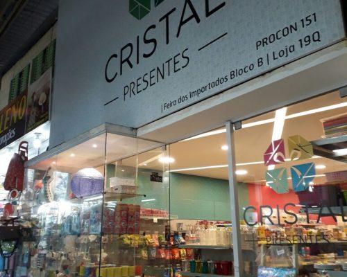 Cristal Presentes, Feira dos Importados de Brasília, Trecho 7, SIA, Comércio Brasília