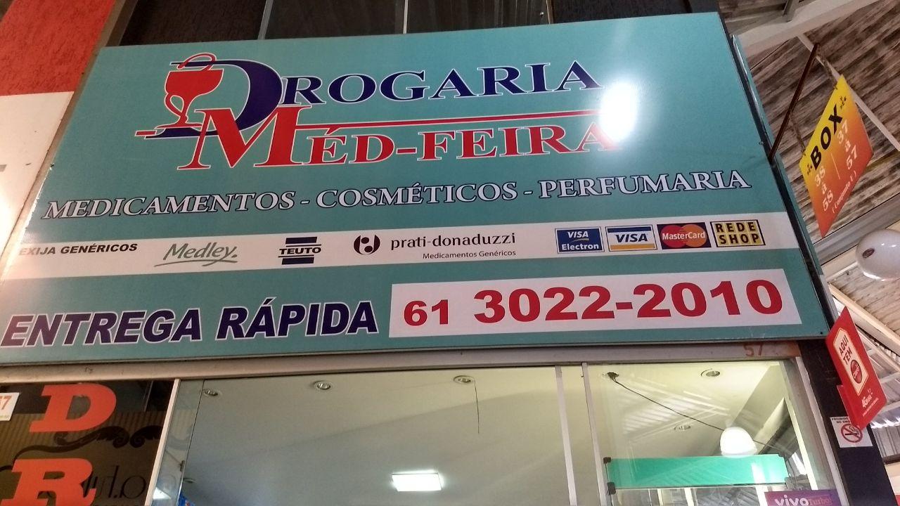 Drogaria Med Feira, Feira dos Importados de Brasília, Bloco E, SIA, Trecho 7, Comércio Brasília