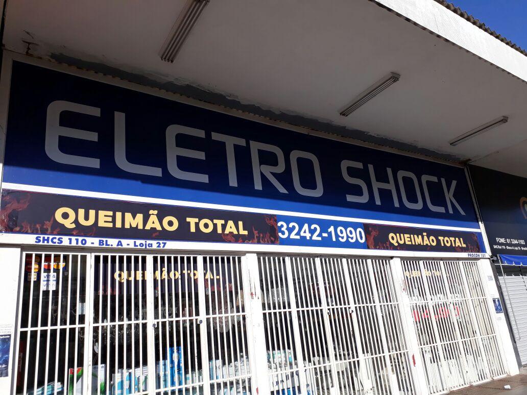 Eletro Shock, Elétrica, Rua das Elétricas, Bloco A, 110 Sul, Asa Sul, Comércio Brasilia
