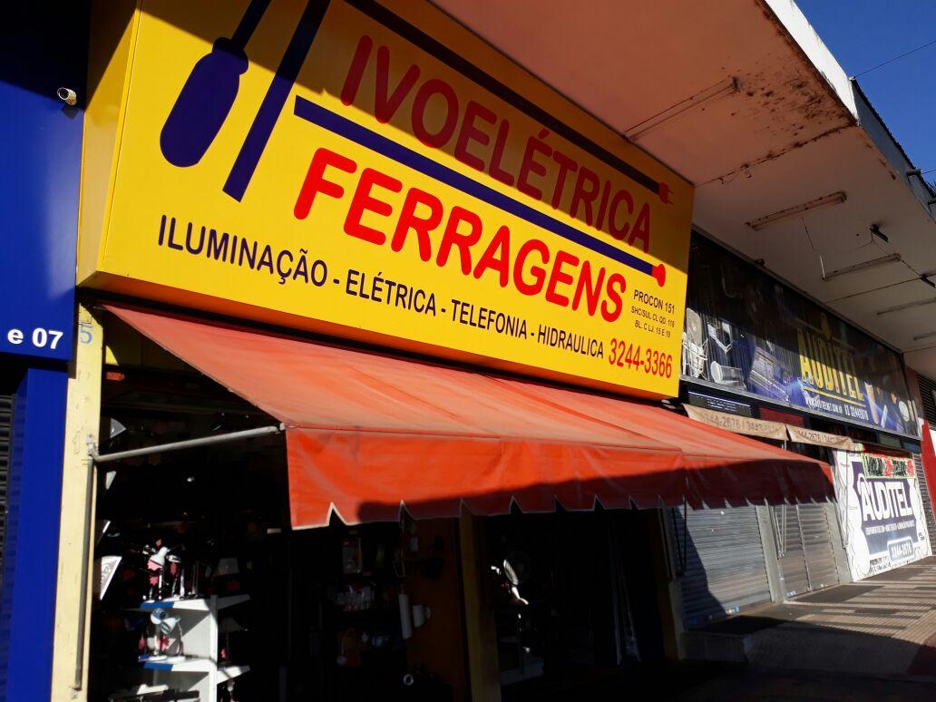 Ivo Elétrica, Iluminação e Ferragens, Rua das Elétricas, Bloco C, 110 Sul, Asa Sul, Comércio Brasilia