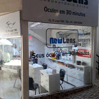 Newlens, Laboratório Ótico, Óculos em 30 minutos, Feira dos Importados de Brasília, Trecho 7, SIA, Comércio Brasília