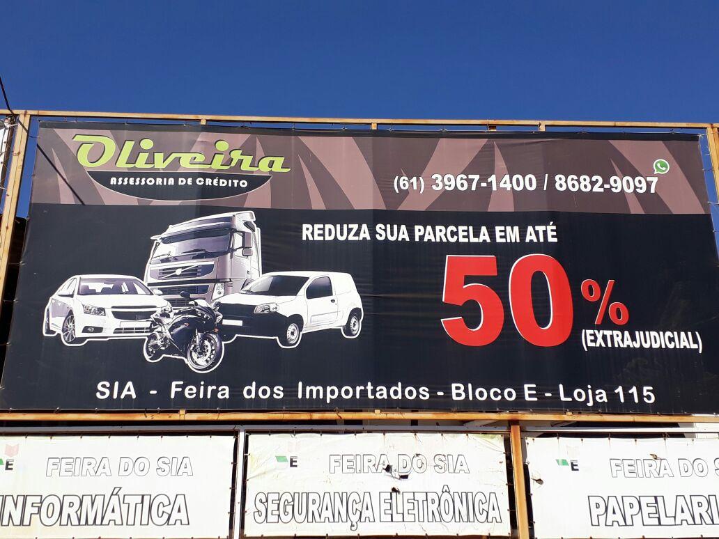 Oliveira Assessoria em Crédito, Feira dos Importados de Brasília, Bloco E, SIA, Comércio Brasília