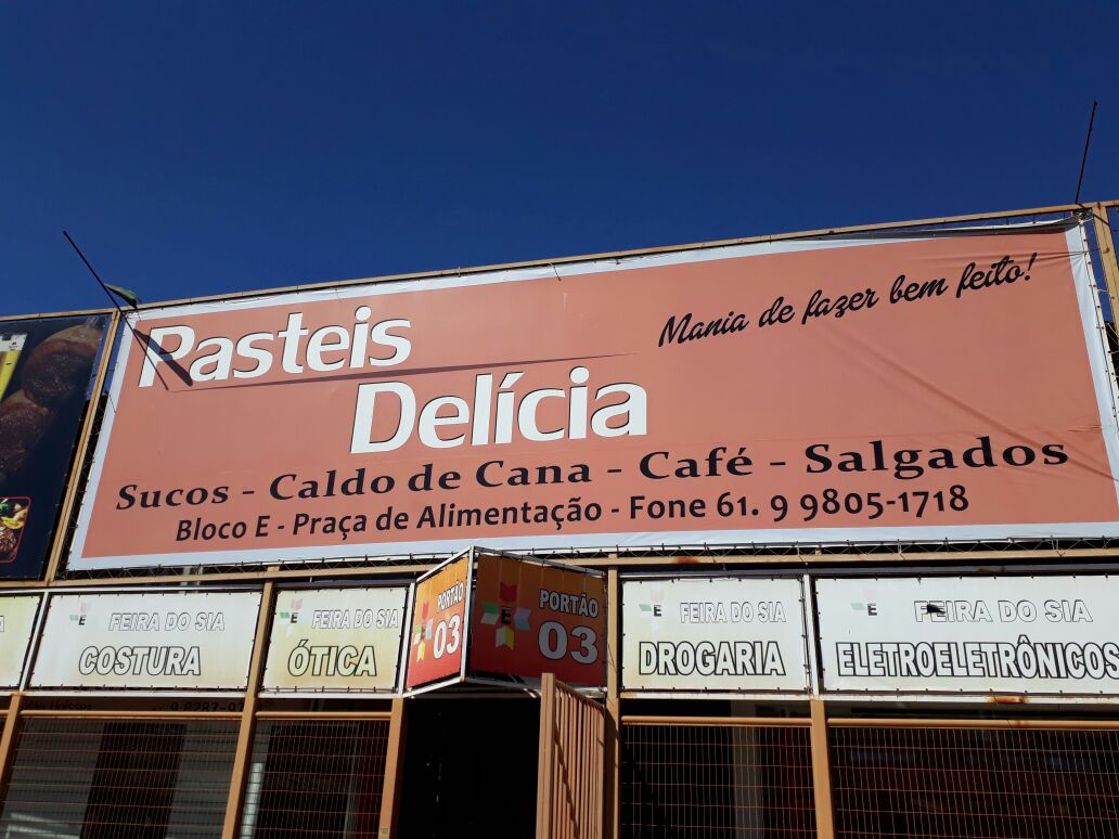 Pastéis Delicia, Feira dos Importados de Brasília, Trecho 7, SIA, Comércio Brasília