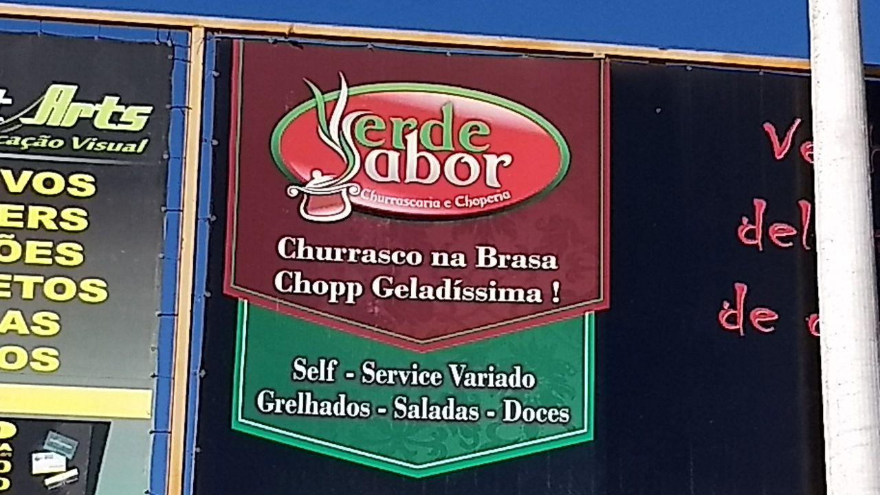Restaurante Verde Sabor, Feira dos Importados de Brasília, Bloco E, Trecho 7, SIA, Comércio Brasília