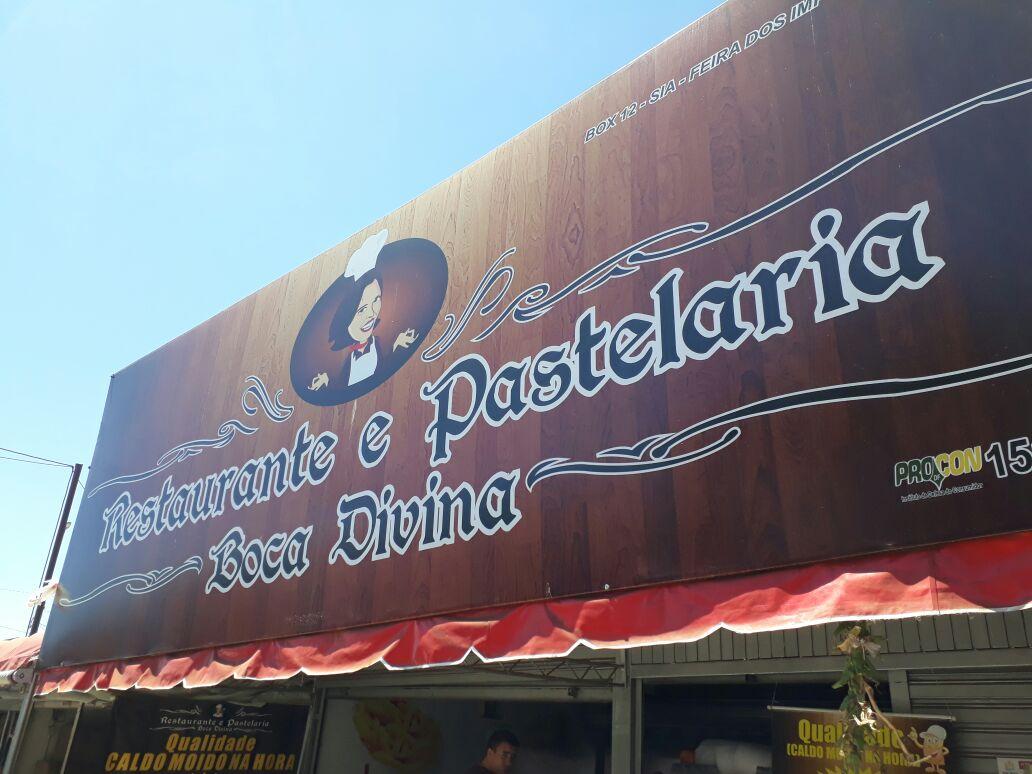 Restaurante e Pastelaria Boca Divina, Feira dos Importados de Brasília, Trecho 7, SIA, Comércio Brasília