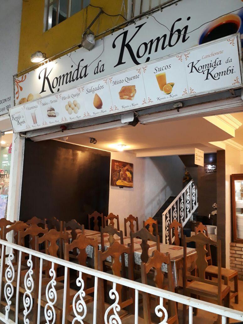 Restaurante komida da Kombi, Feira dos Importados de Brasília, Bloco E, SIA, Comércio Brasília