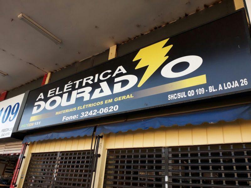 Elétrica Dourado, Rua das Elétricas, Bloco A, 109 Sul, Asa Sul, Comércio Brasilia
