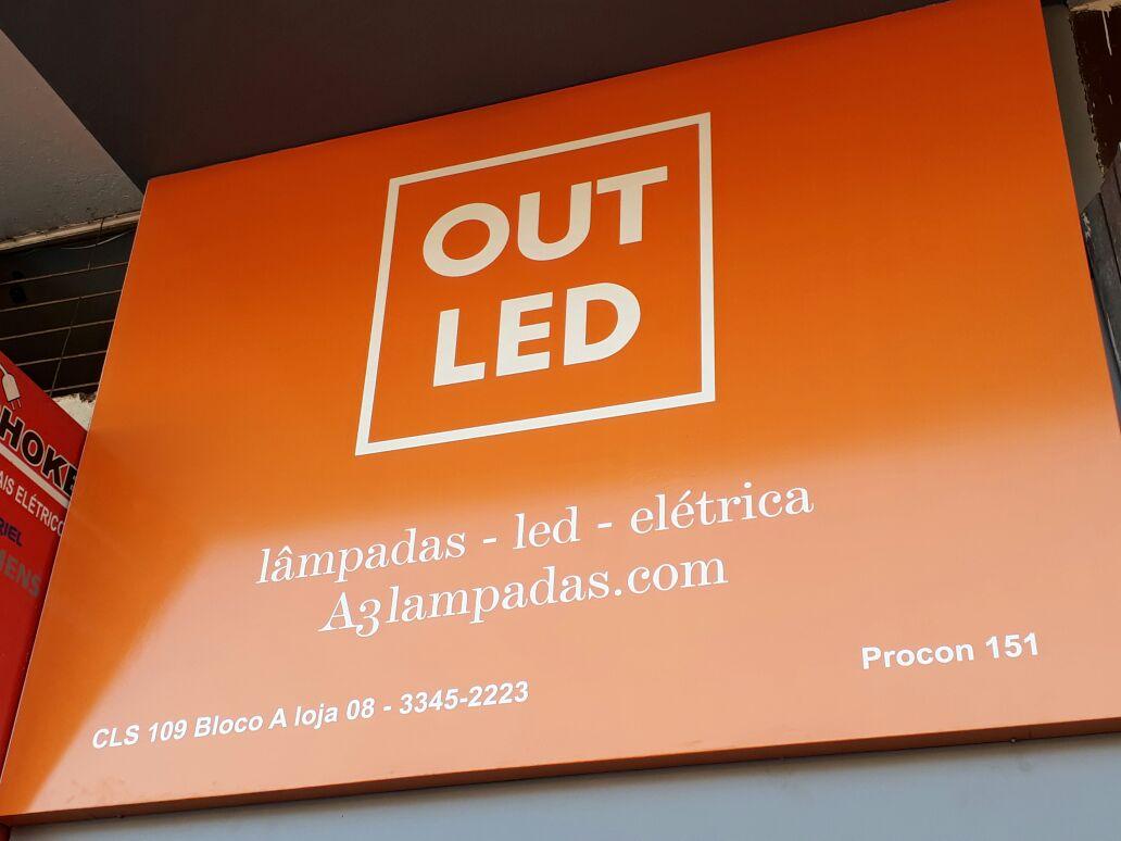 Out Led, Lâmpadas, Led, elétrica, A3 Lampadas, Rua das Elétricas, Bloco A, 109 Sul, Asa Sul, Comércio Brasilia