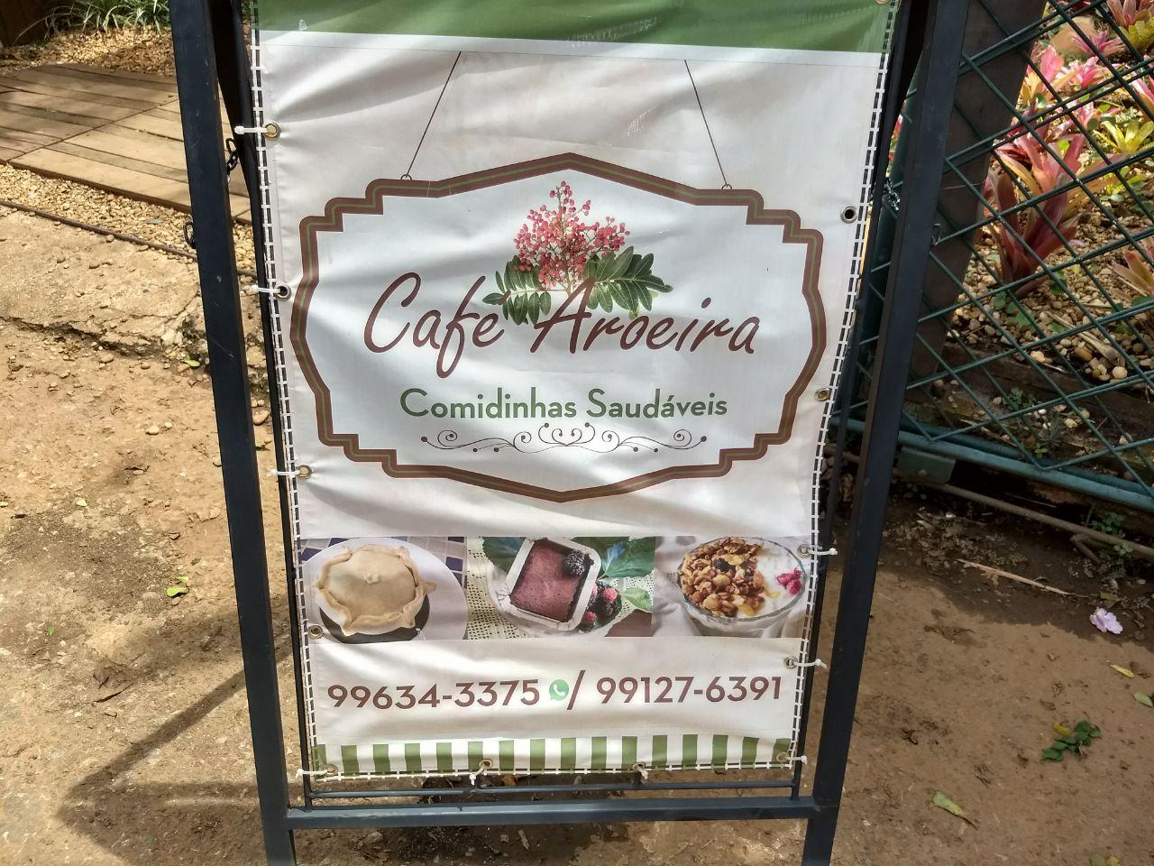 Café Aroeira, Comidinhas Saudáveis, Polo Verde, Viveiro de Plantas, Lago Norte, Saída Norte, Comércio Brasília