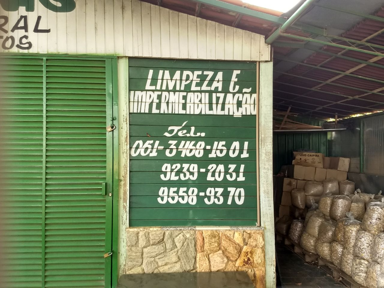 Limpeza e Impermeabilização, Polo Verde, Viveiro de Plantas, Lago Norte, Saída Norte, Comércio Brasília