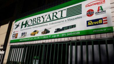 Hobbyart, Plastimodelismo, Ferreomodelismo, Colecionismo e Maquetes, 711 Norte, Bloco F, Asa Norte, Comércio de Brasília