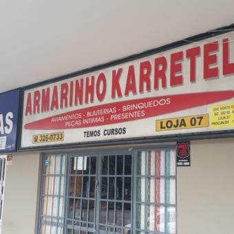 Armarinho Karretel, SCLN 302, Quadra 302 Norte, Bloco A, Comércio Brasília