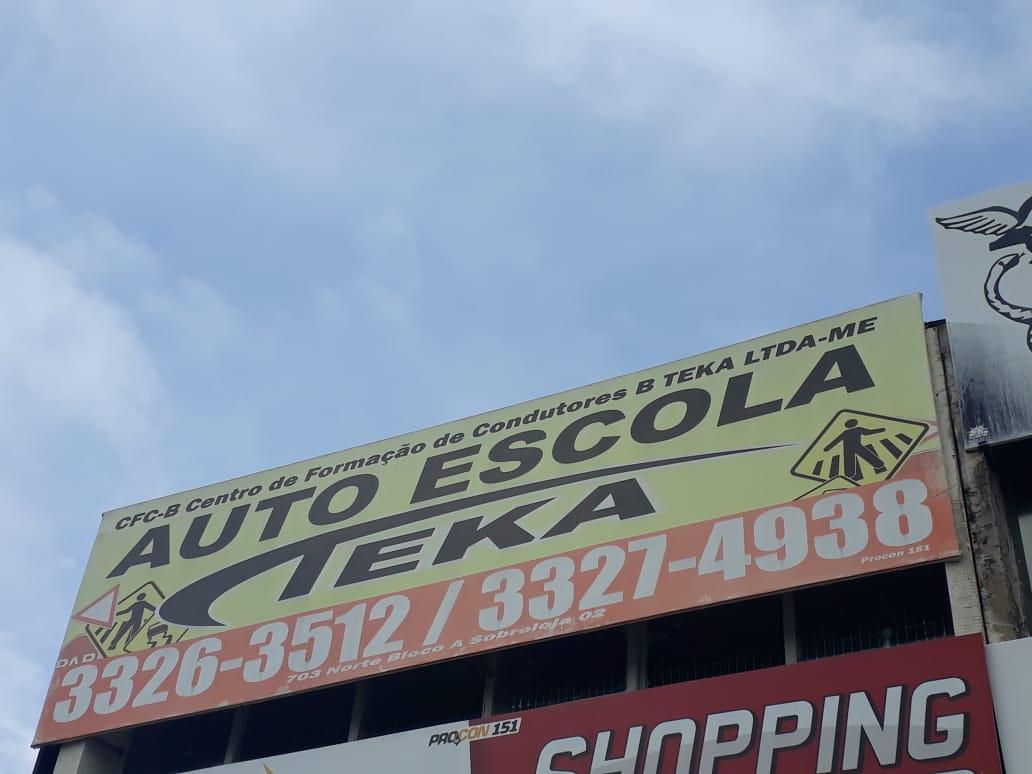 Auto Escola Teka, Quadra 703 Norte, Bloco A, Comércio Brasília