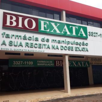 Bio Exata Farmácia de Manipulação, sua receita na dose exata, Quadra 703 Norte, Bloco G, W3 Norte, Asa Norte, Comércio Brasilia
