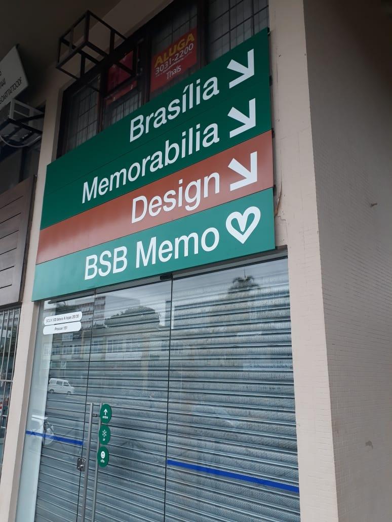 Brasília Memorabilia, CLN 303, Quadra 303 Norte, Bloco A, Comércio Brasília