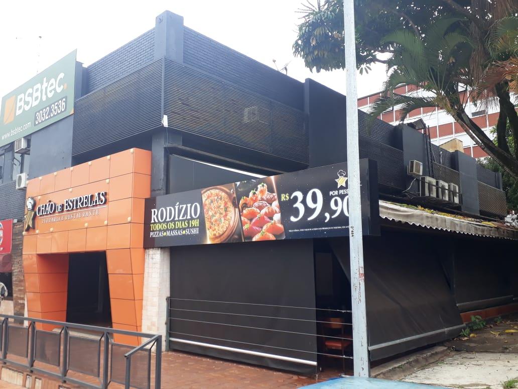 Chão de Estrelas, Pizzaria e Restaurante, Quadra 302 Norte, Bloco C, Comércio Brasília