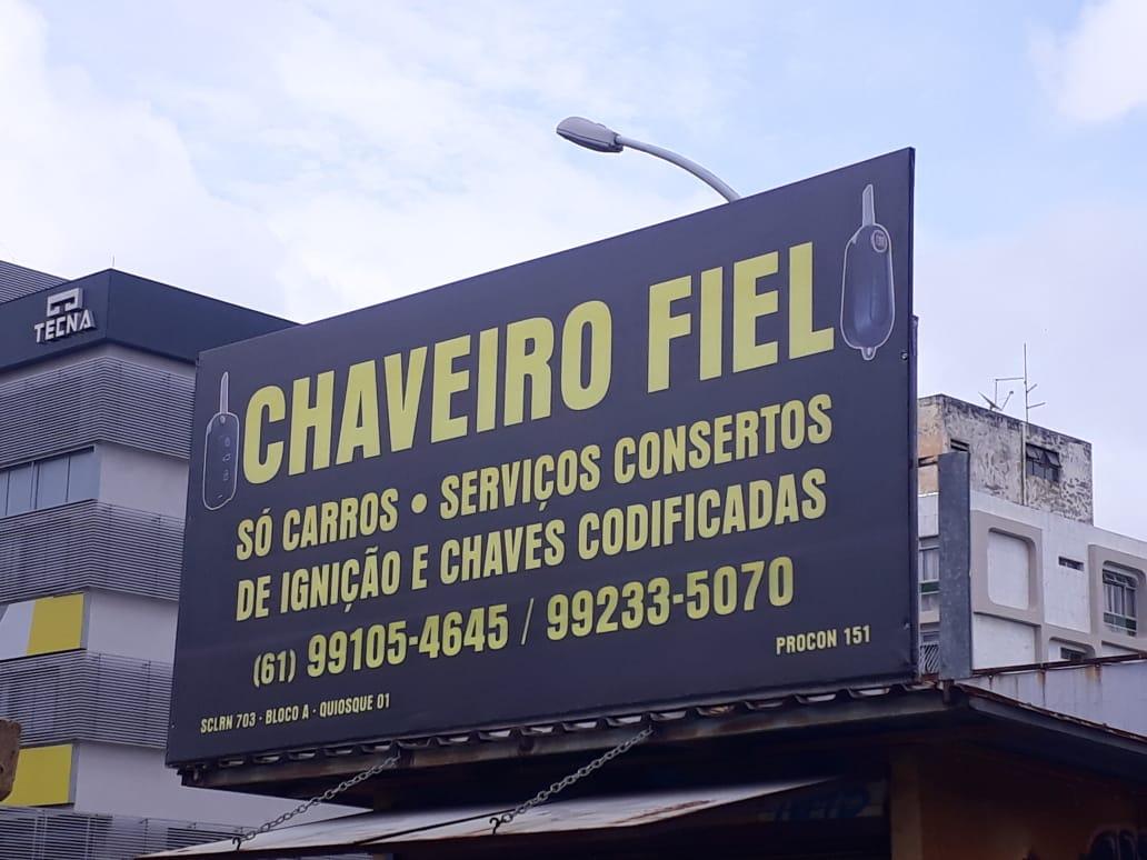 Chaveiro Fiel, Chaveiro 703 Norte, Quadra 703 Norte, Bloco A, W3 Norte, Asa Norte, Comércio Brasilia