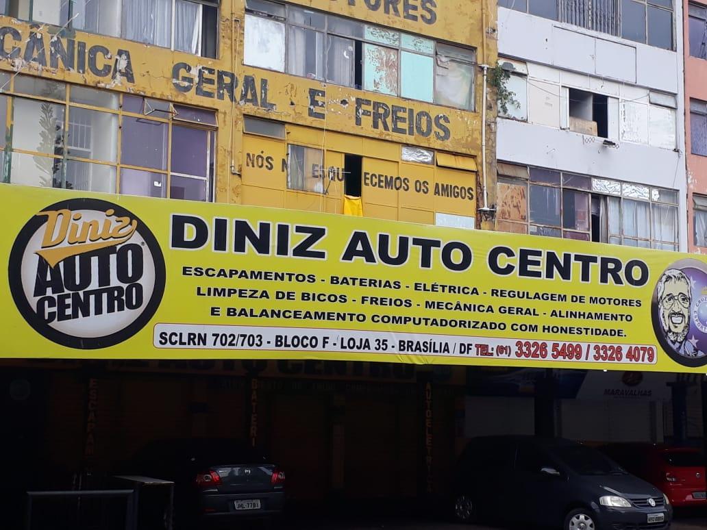 Diniz Auto Centro, Escapamento, baterias, elétrica, regulagem de motores, 61 3326-5499, Quadra 702 Norte, Bloco F, Asa Norte, Comércio Brasília
