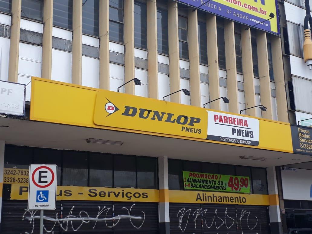 Dunlop Pneus, Pareira Pneus, Quadra 702 703 Norte, Bloco A, Comércio Brasília