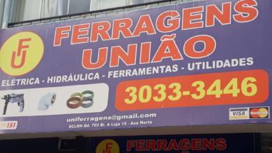 Ferragens União, Elétrica, Hidráulica, Ferramentas, Utilidades, Quadra 703 Norte, Bloco A, W3 Norte, Asa Norte, Comércio Brasilia