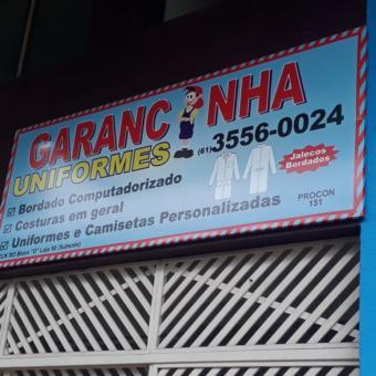 Garanginha, Uniformes, Uniformes e Camisetas Personalizadas, Bordados Computadorizado, CLN 303, Quadra 303 Norte, Bloco D, Loja 50, Subsolo, Comércio Brasília