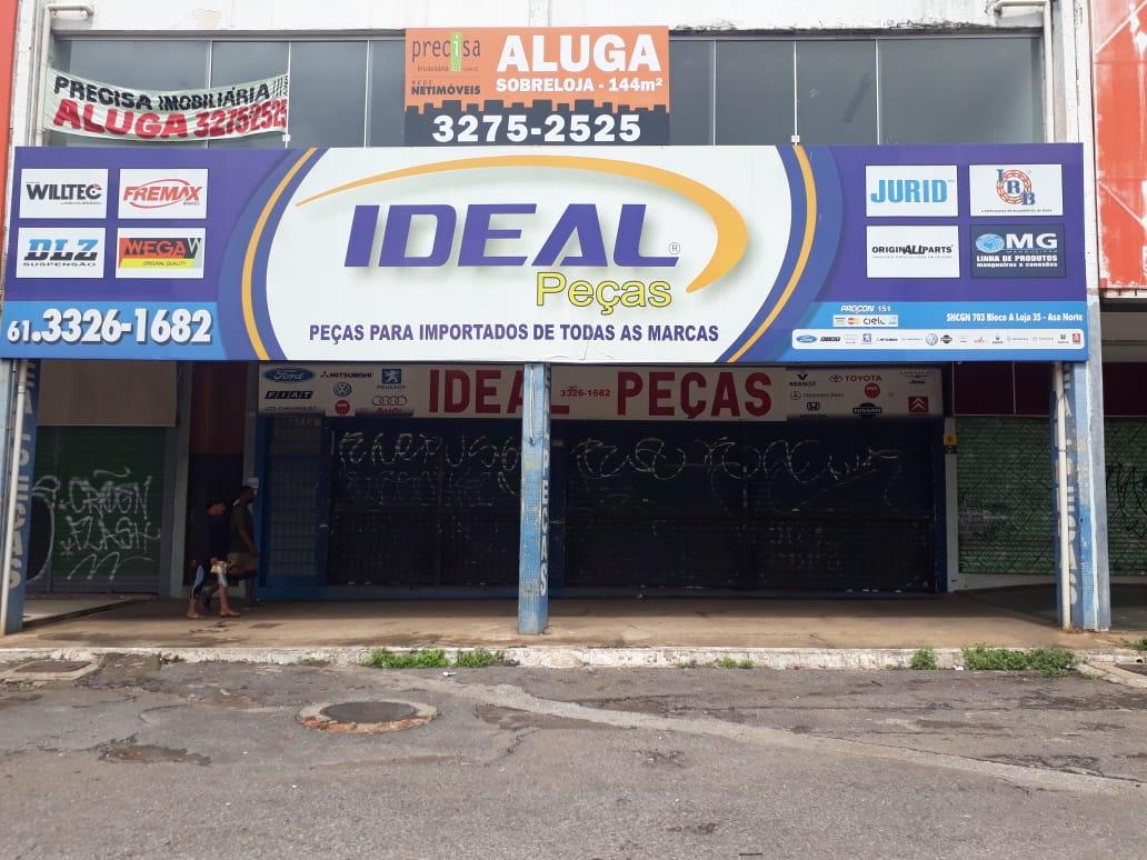 Ideal Peças, Peças Importadas de todas as marcas, Quadra 703 Norte, Bloco G, W3 Norte, Asa Norte, Comércio Brasilia