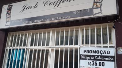 Jack Coiffeur, CLN 303, Quadra 303 Norte, Bloco D, Comércio Brasília