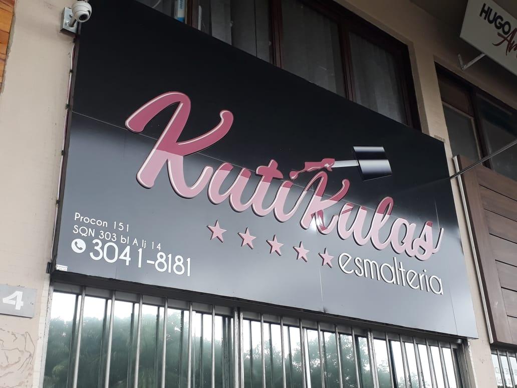 Kutikulas Esmalteria, CLN 303, Quadra 303 Norte, Bloco A, Comércio Brasília