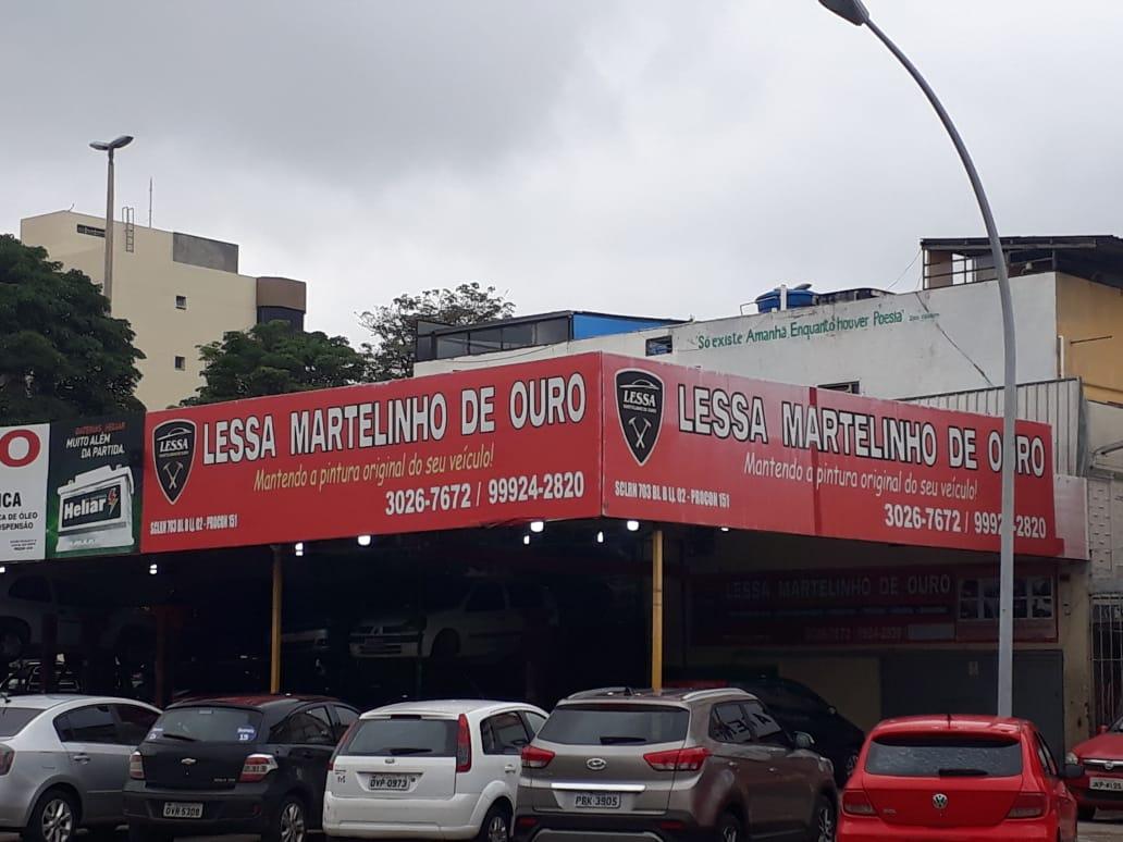 Lessa Martelinho de Ouro, Quadra 703 Norte, Bloco B, Comércio Brasília